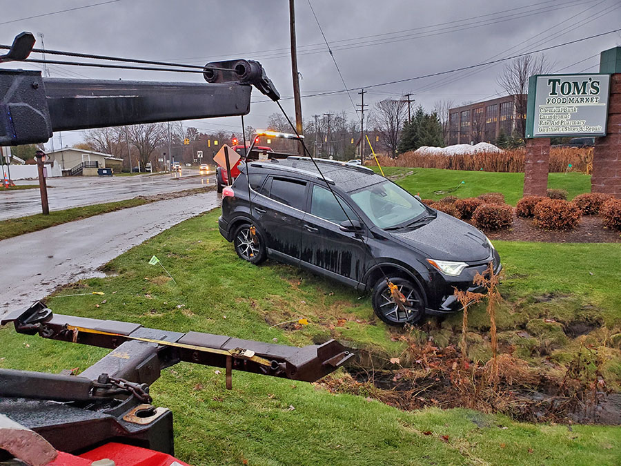 Vehicle recovery in Northern Michigan